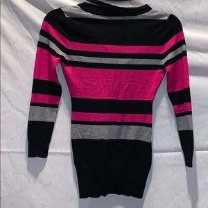 Say What? Shirts & Tops - Long striped sweater